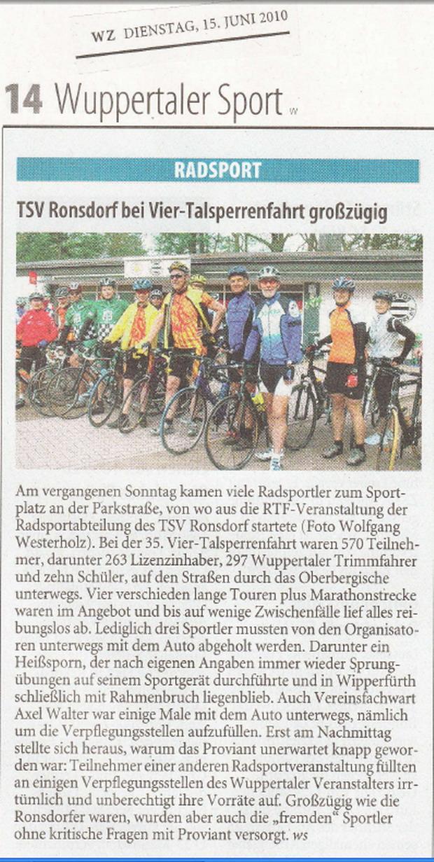 Pressebericht aus WZ