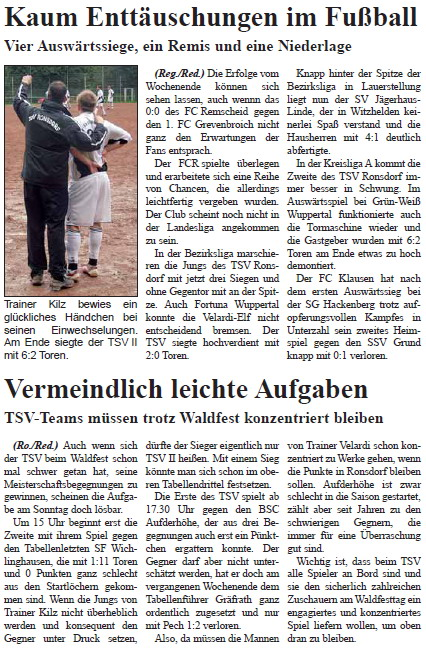 Presse 05.09.2010