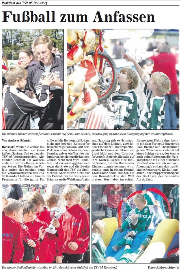 Waldfestbericht 2010