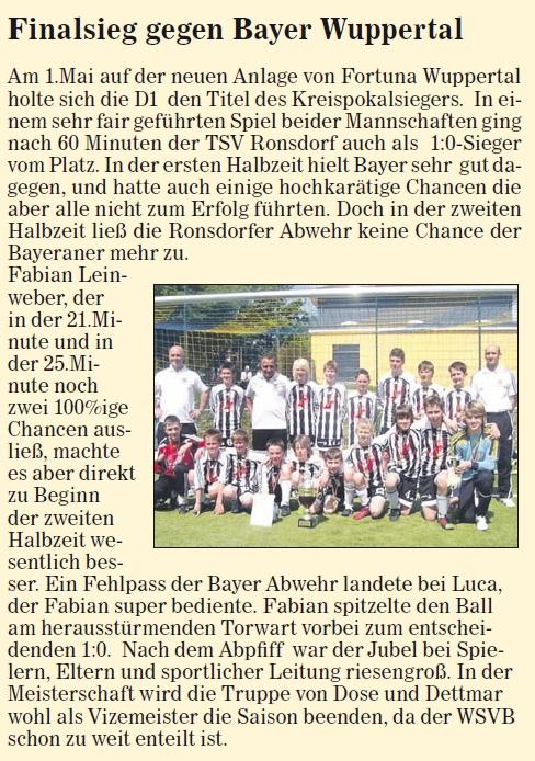 Presse D1 12.05.2010