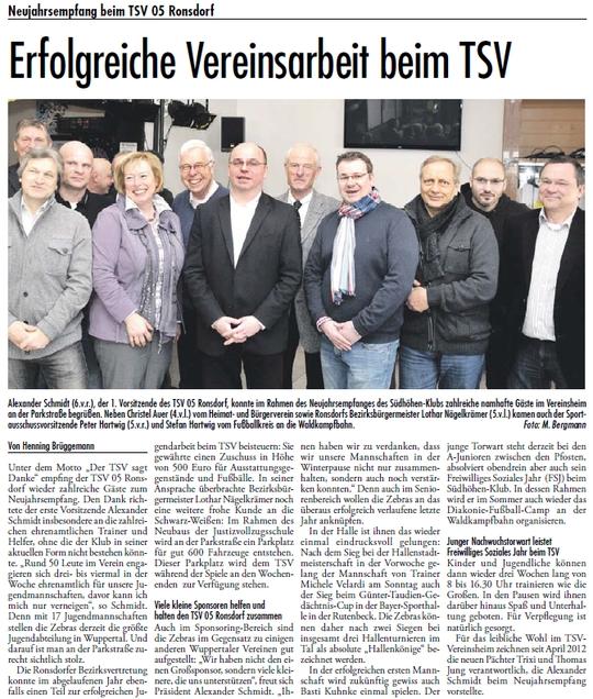 Presse 16.01.2013