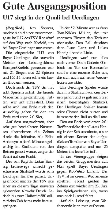 Presse 16.06.2013