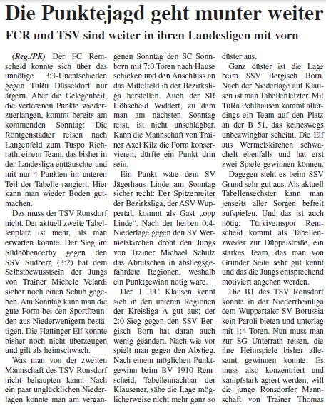 Presse 16.10.2011