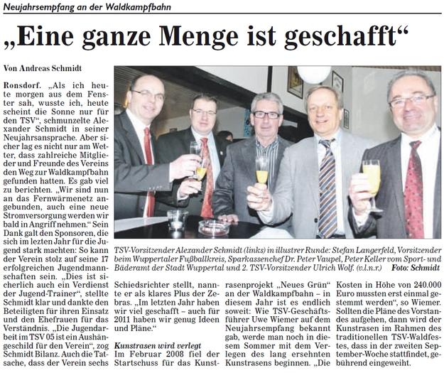 Presse 19.01.2011