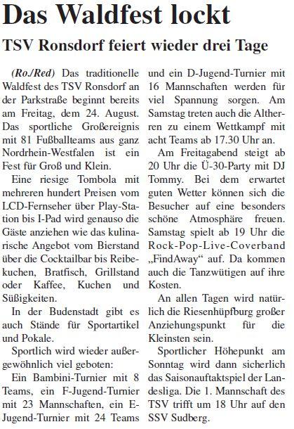 Presse 19.08.2012