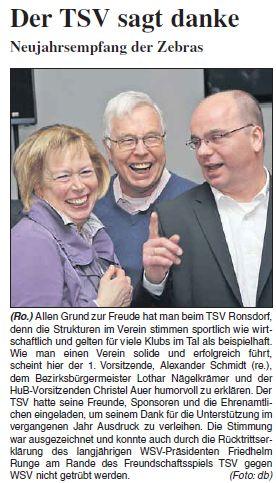 Presse 20.01.2013