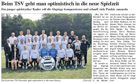 Presse 21.07.2013