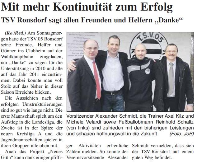 Presse 22.01.2011