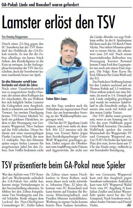 Presse 25.07.2012
