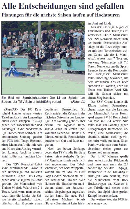 Presse 29.05.2011