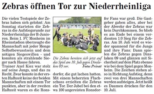 Presse 29.06.2011