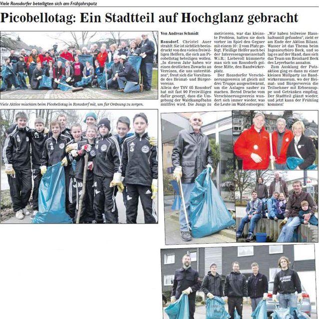 Picobellotag mit TSV05 Ronsdorf e.V. Beteiligung