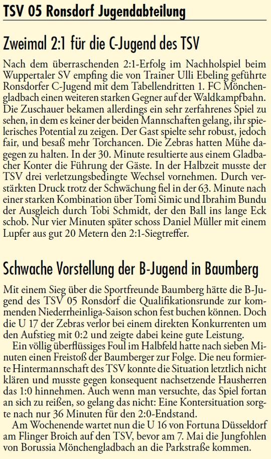 Presse 30.04.2013