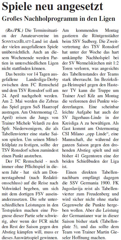 Presse 31.03.2013